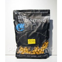 Big Baiting Boilies - Banana&Scopex - 20 mm, 5kg