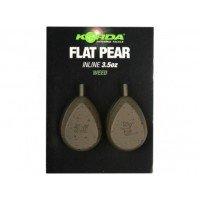 Flat Pear Inline 3 oz/84 gr.