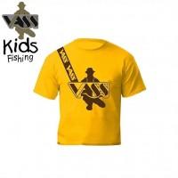 Vass Kids & Junior T-shirt inc Vass shoulder print