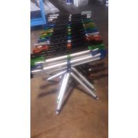 Dayko Compact Bitubo Rod Pod - silver