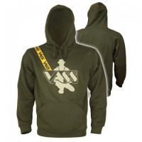 Vass Classic Printed 'Khaki Edition' Fishing Hoody with shoulder print